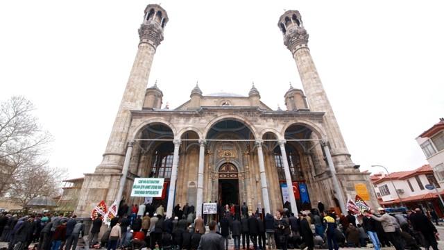 """Konya'nın barok camisi """"Aziziye"""" ibadete açıldı 30"""