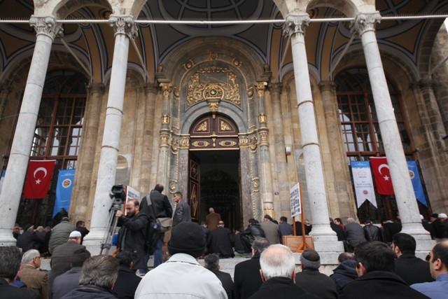 """Konya'nın barok camisi """"Aziziye"""" ibadete açıldı 32"""
