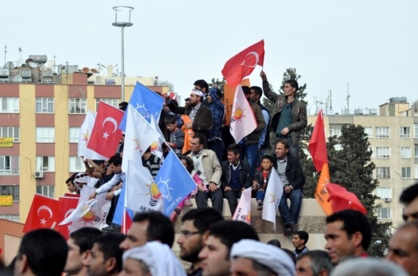 AK Parti Şanlıurfa mitingi 12