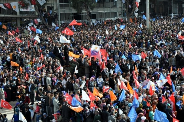 AK Parti Şanlıurfa mitingi 2