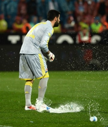 Trabzonspor - Fenerbahçe maçı tatil edildi 36