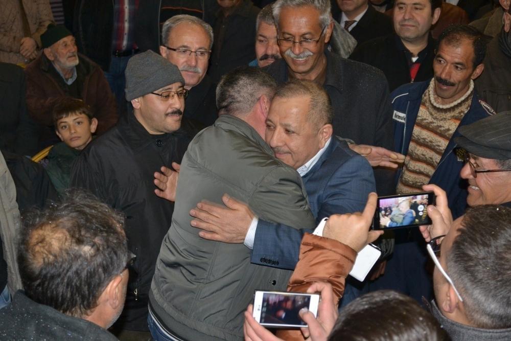 Nusret Argun, Konya'da yakınları tarafından karşılandı 3