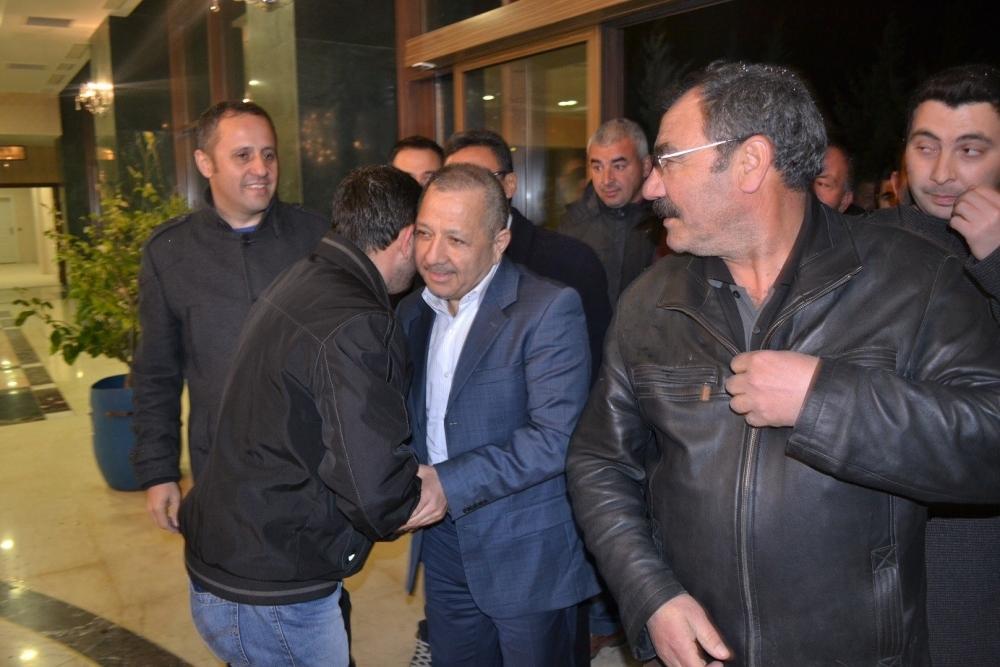 Nusret Argun, Konya'da yakınları tarafından karşılandı 4