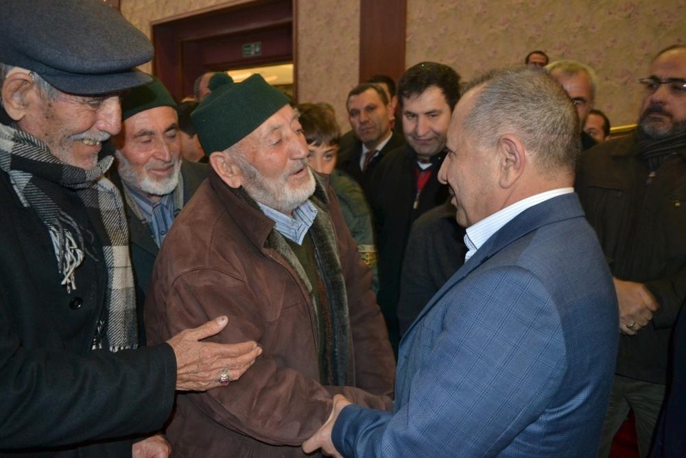 Nusret Argun, Konya'da yakınları tarafından karşılandı 5