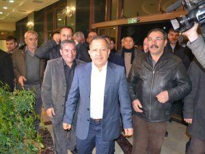 Nusret Argun, Konya'da yakınları tarafından karşılandı