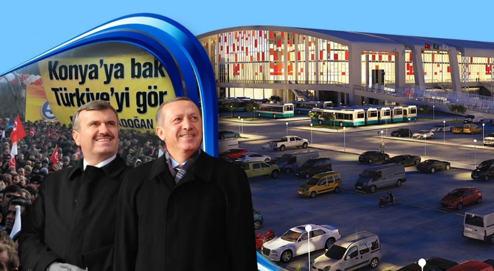 Başbakan Erdoğan, Konya'da 155 açılış yapacak 1