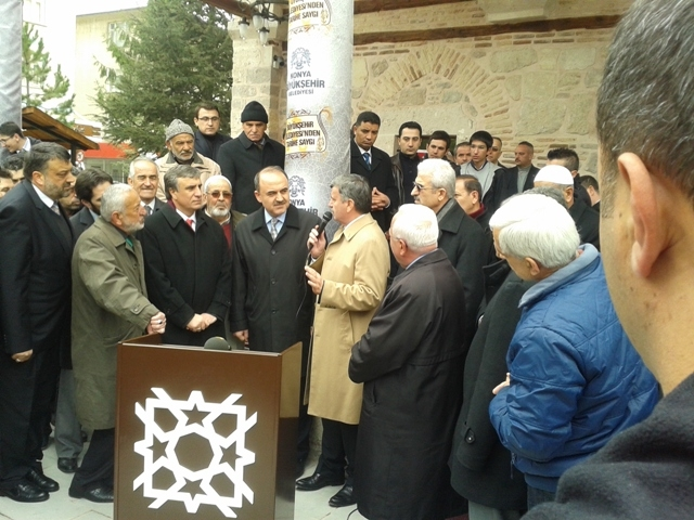 Tahir Paşa (Dursun Fakih) Camii İbadete Açıldı 23