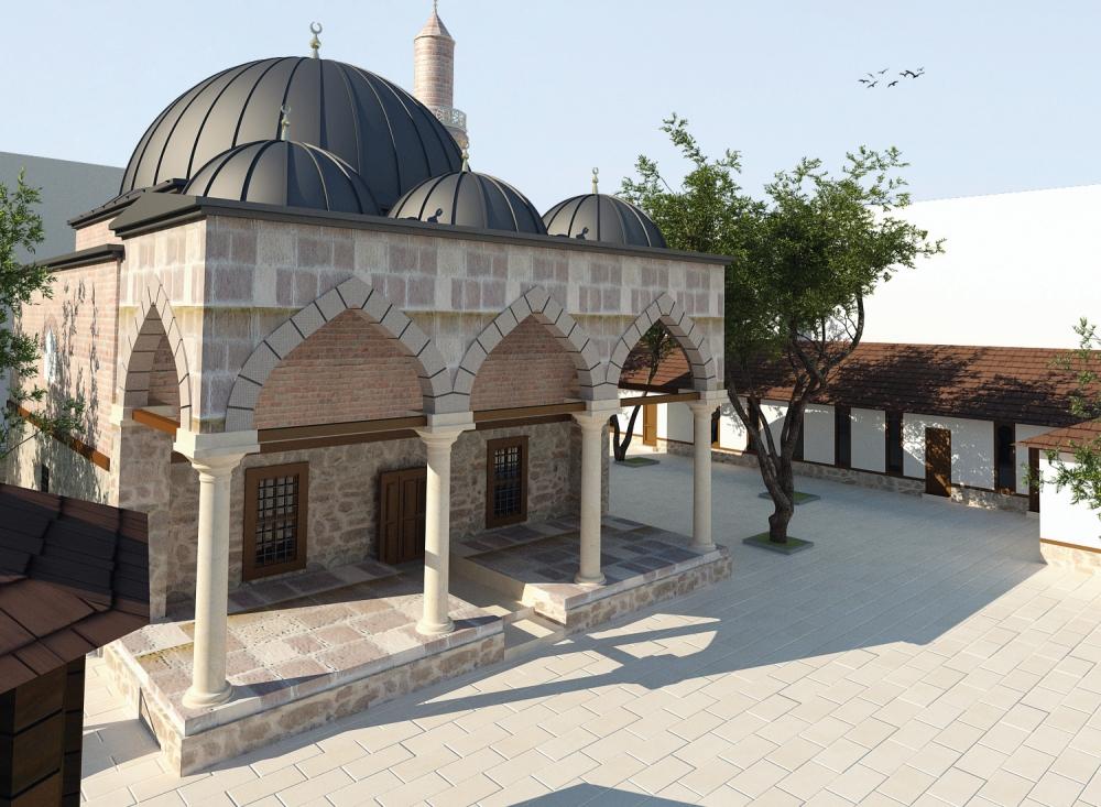 Tahir Paşa (Dursun Fakih) Camii İbadete Açıldı 49