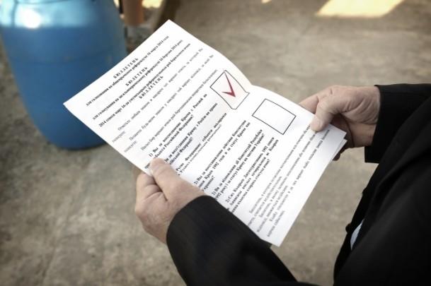 Kırım Tatarları'na sürgünü hatırlatan referandum 1