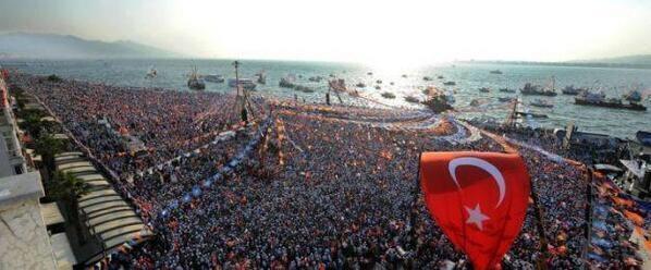 AK Parti'nin İzmir mitingi 1