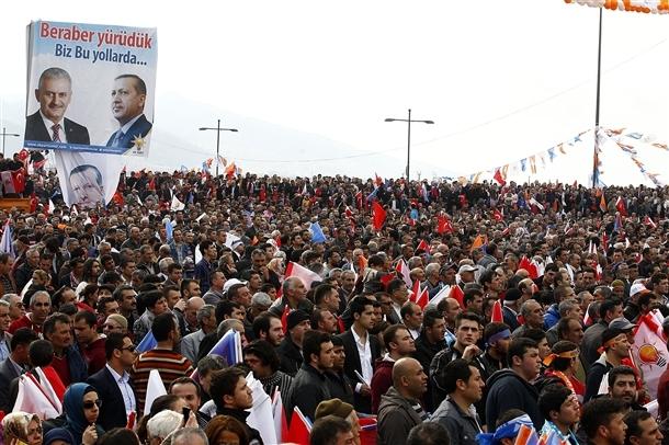 AK Parti'nin İzmir mitingi 13