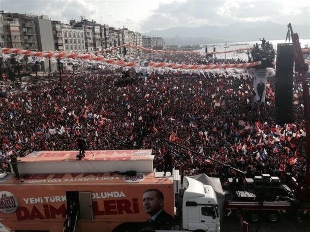 AK Parti'nin İzmir mitingi 2