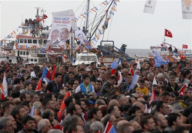 AK Parti'nin İzmir mitingi 4