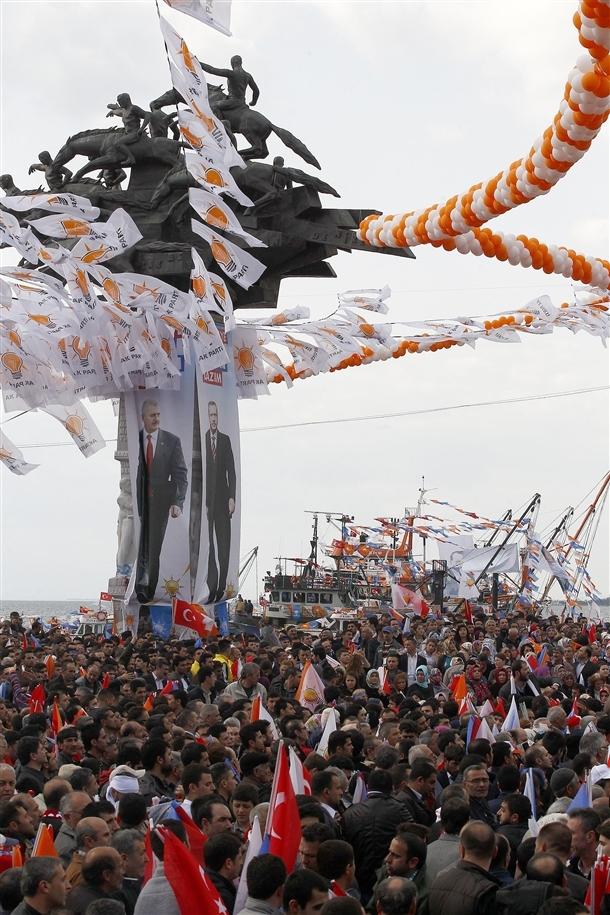 AK Parti'nin İzmir mitingi 5