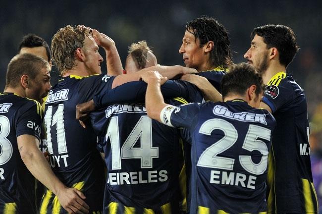 Fenerbahçe-Kayseri Erciyesspor yendi 31