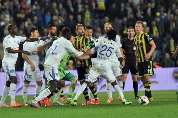 Fenerbahçe-Kayseri Erciyesspor yendi 34