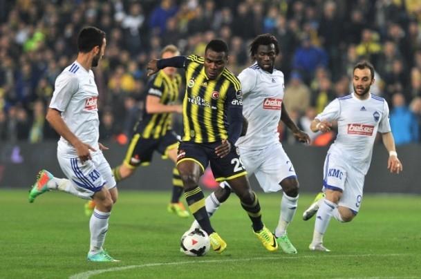 Fenerbahçe-Kayseri Erciyesspor yendi 40