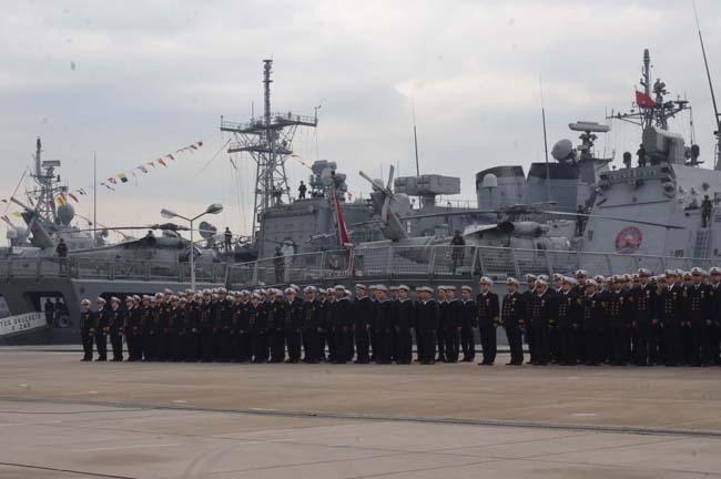 Barbaros Türk Deniz Görev Grubu yola çıktı 10