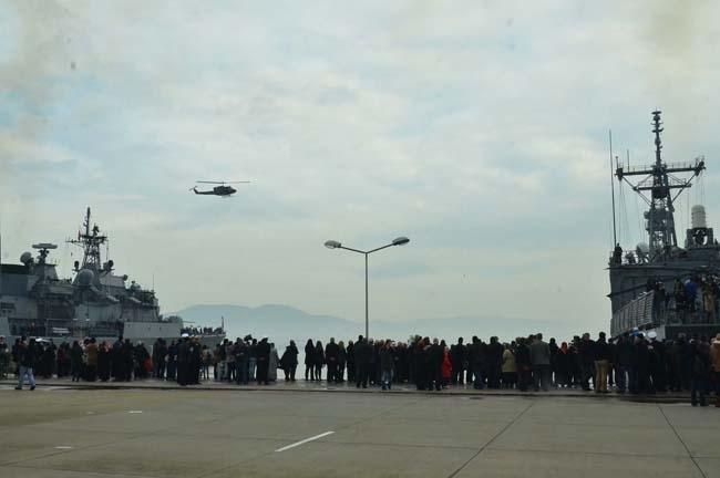 Barbaros Türk Deniz Görev Grubu yola çıktı 12