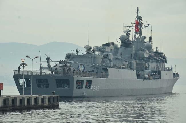 Barbaros Türk Deniz Görev Grubu yola çıktı 14