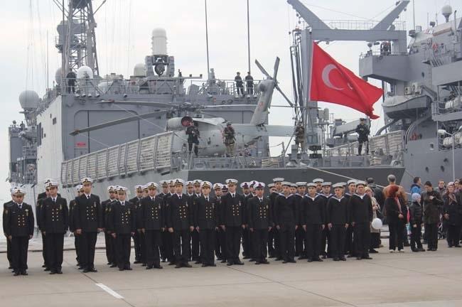 Barbaros Türk Deniz Görev Grubu yola çıktı 21