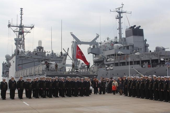Barbaros Türk Deniz Görev Grubu yola çıktı 22
