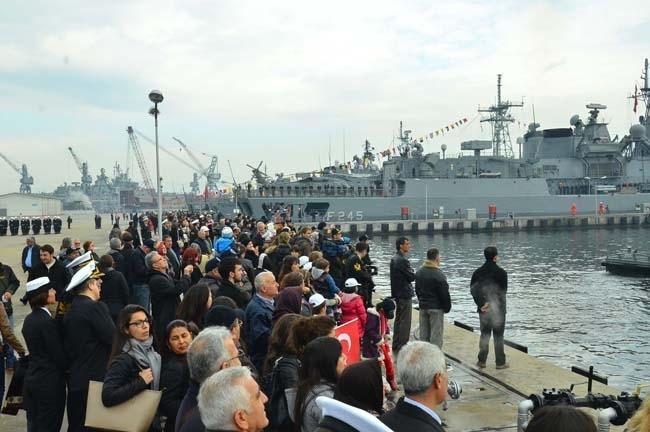 Barbaros Türk Deniz Görev Grubu yola çıktı 4