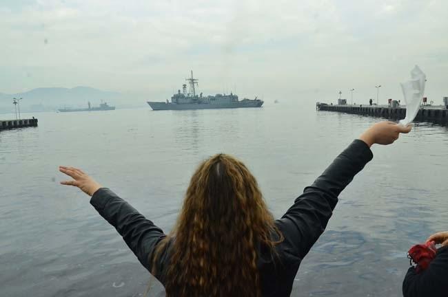 Barbaros Türk Deniz Görev Grubu yola çıktı 5
