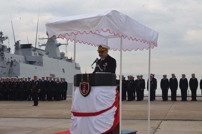 Barbaros Türk Deniz Görev Grubu yola çıktı 8