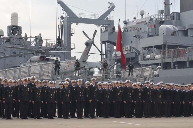 Barbaros Türk Deniz Görev Grubu yola çıktı 9