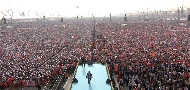 AK Parti'nin İstanbul mitingi 1