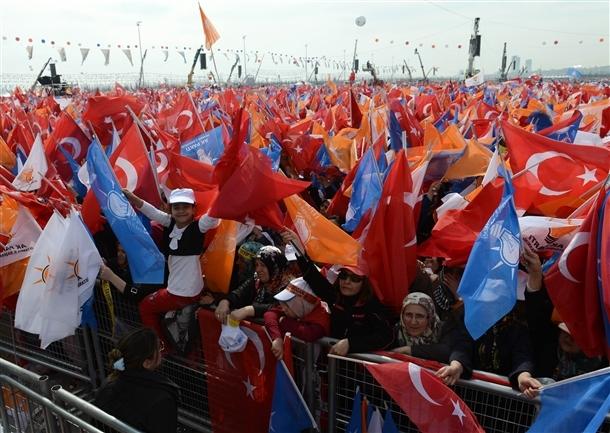 AK Parti'nin İstanbul mitingi 11