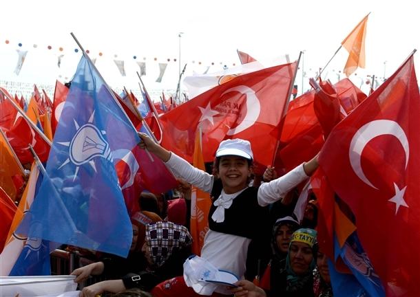 AK Parti'nin İstanbul mitingi 12