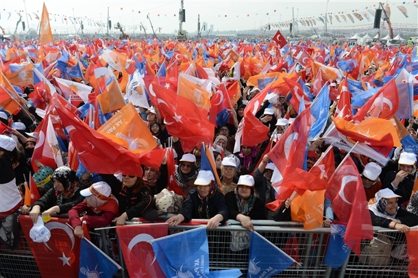 AK Parti'nin İstanbul mitingi 13