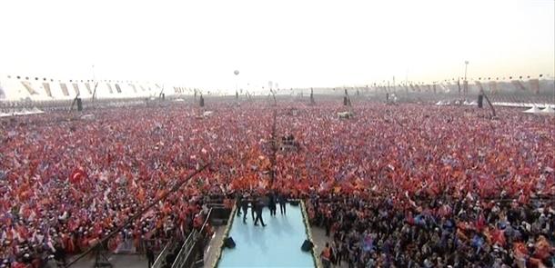 AK Parti'nin İstanbul mitingi 4