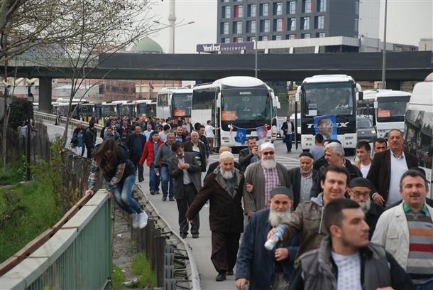 AK Parti'nin İstanbul mitingi 5