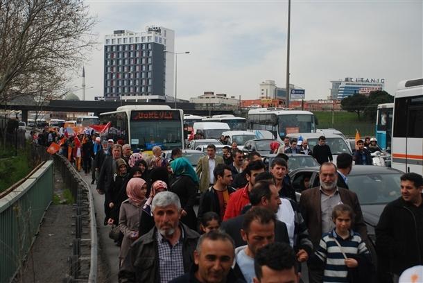 AK Parti'nin İstanbul mitingi 7