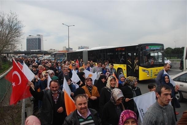 AK Parti'nin İstanbul mitingi 9
