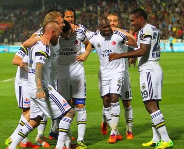Gaziantepspor 0 - Fenerbahçe 3 1