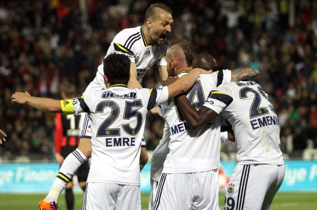 Gaziantepspor 0 - Fenerbahçe 3 13