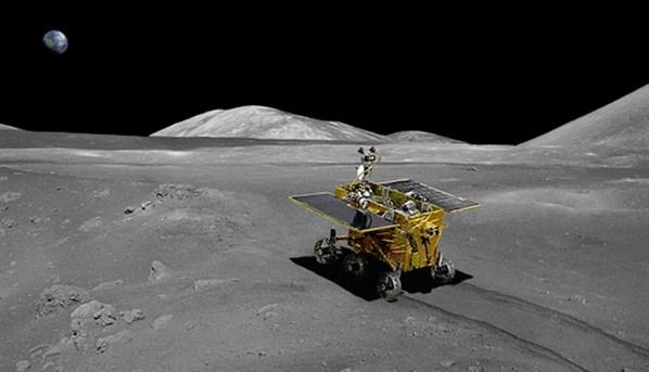 37 yıl sonra Ay'dan gelen ilk fotoğraflar 1