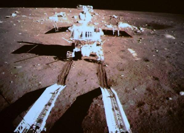 37 yıl sonra Ay'dan gelen ilk fotoğraflar 5
