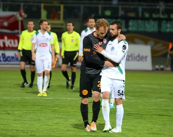 Torku Konyaspor 0 - 0 Galatasaray 45