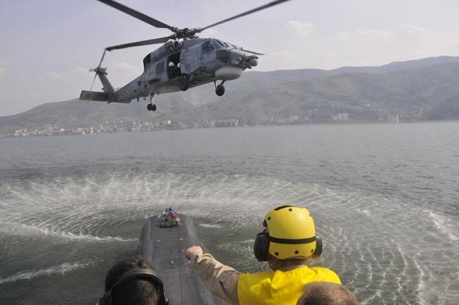 Türk Denizaltıları kabiliyetlerini sergiledi 3