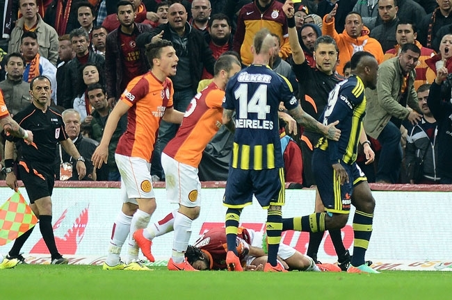 Derbinin galibi Galatasaray 17