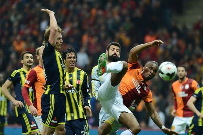 Derbinin galibi Galatasaray 19