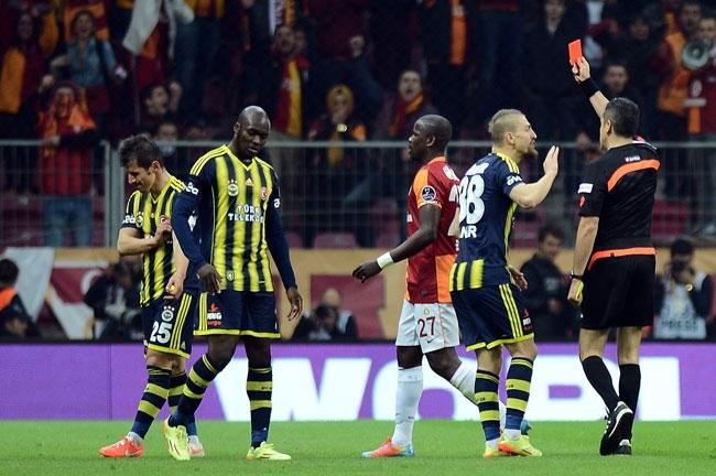 Derbinin galibi Galatasaray 22