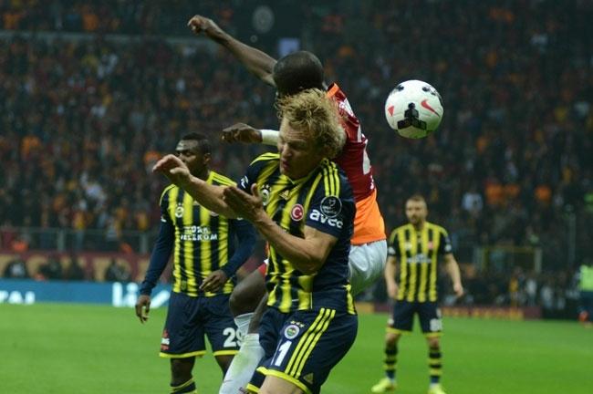 Derbinin galibi Galatasaray 31