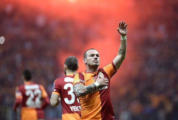 Derbinin galibi Galatasaray 35