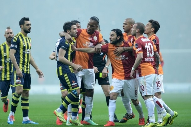 Derbinin galibi Galatasaray 37